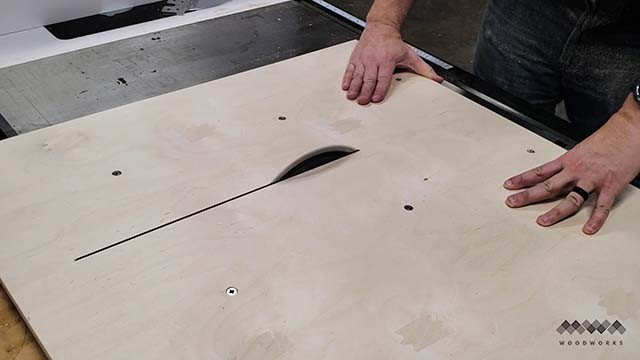 cutting the kerf