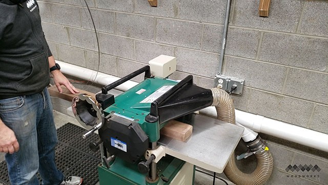 milling on the planer