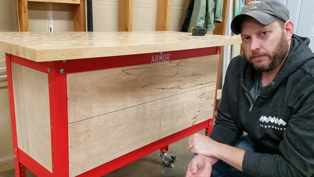 Armor Tool Workbench Storage