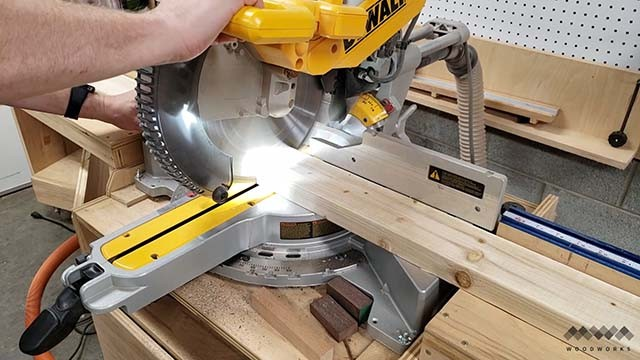 cutting parts to clean parallel clamps