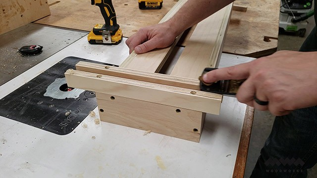 making a router sled carriage