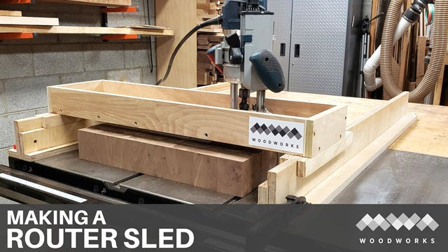 How to Make a Router Sled/Slab Flattening Mill