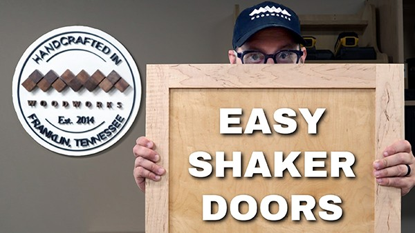 How To Make A Shaker Style Door