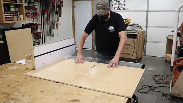 cutting custom tool wall panel