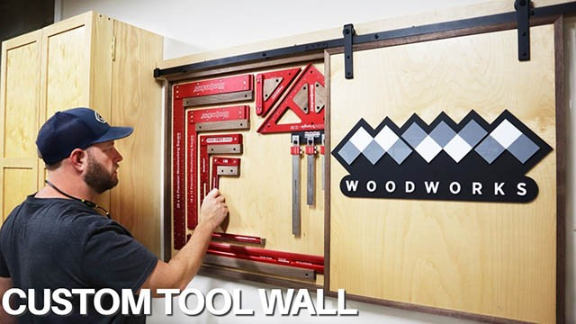 How to Make a Custom Tool Wall