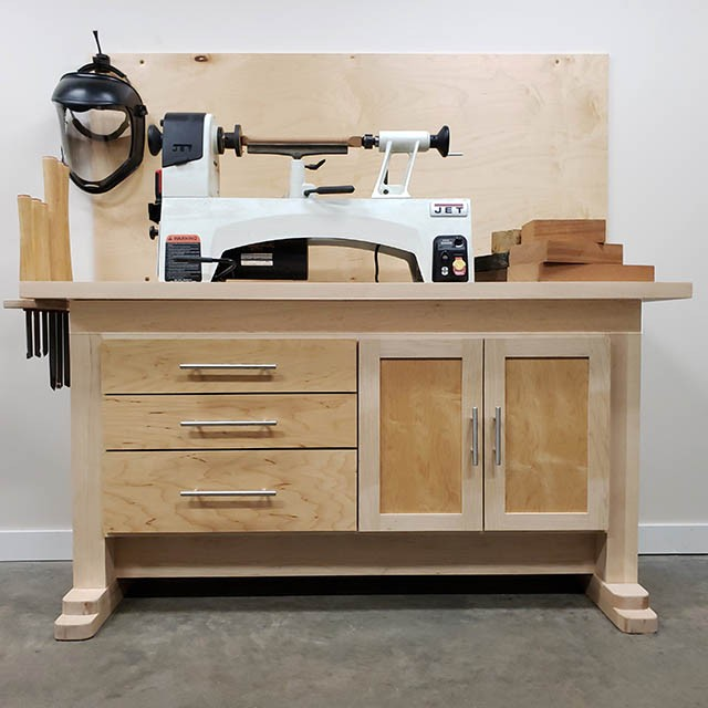 Make A Lathe Stand | Woodworking Project