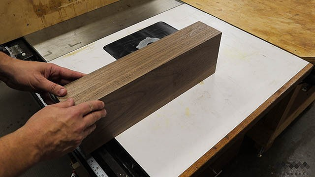 glue joint trick with jointer