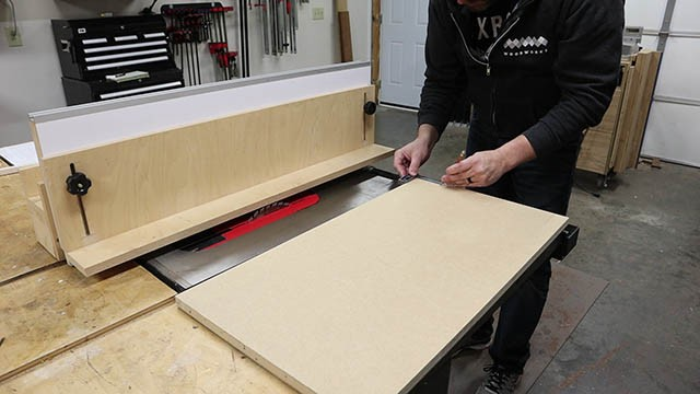 table saw L Fence 2