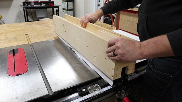 table saw subfence 6
